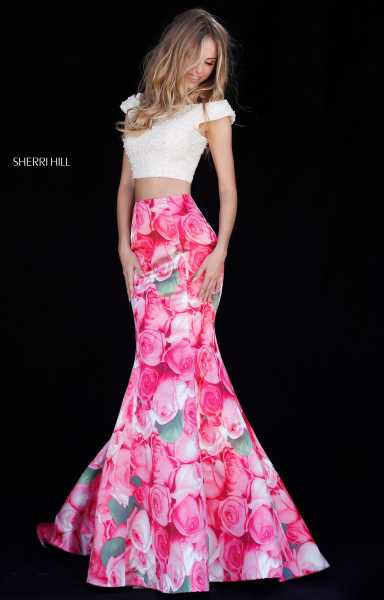 Sherri Hill 51927 Mermaid and Two Piece picture 2