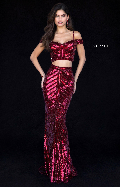 Looks - Hill sherri sparkly prom dresses video