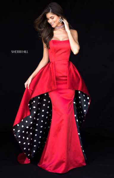 Sherri Hill 52054 Strapless picture 1