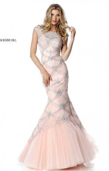 Sherri Hill 51593 High Neck picture 1