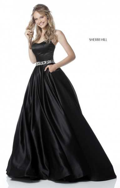 Sherri Hill 51609 Strapless picture 1