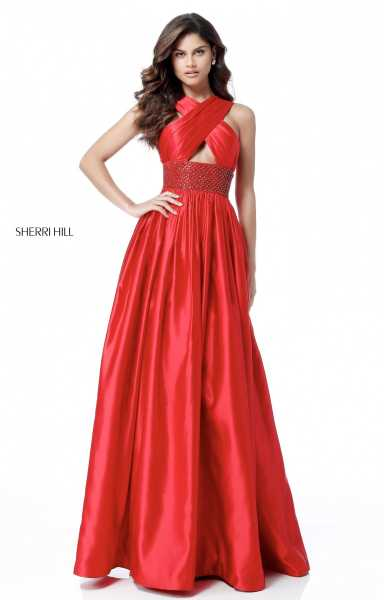 Sherri Hill 51621 High Neck picture 1
