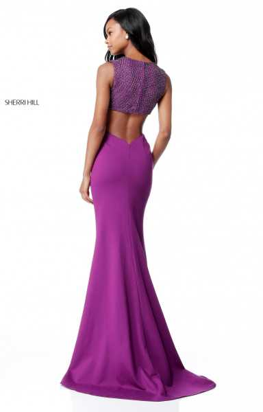 Sherri Hill 51698 Has Straps and V-Shape picture 1