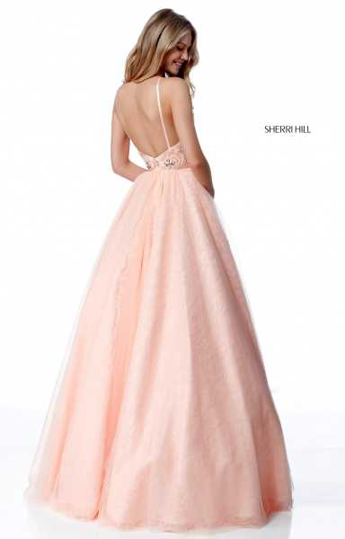 Sherri Hill 51702 High Neck and Has Straps picture 1