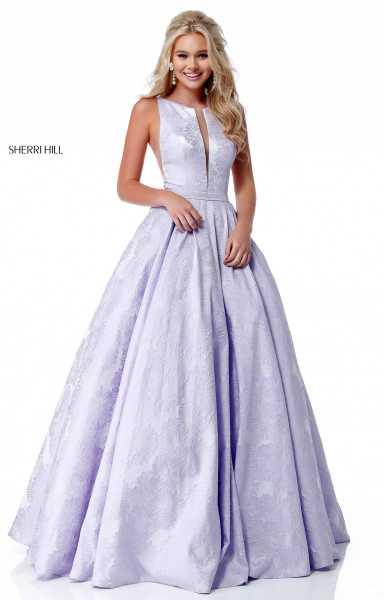 Sherri Hill 51703 High Neck picture 1