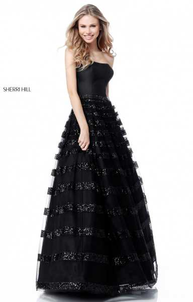 Sherri Hill 51705 Strapless picture 1