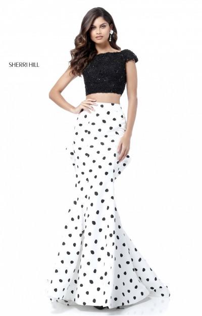 70fc5efe604 Polka Dot Prom Dresses
