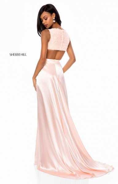 Sherri Hill 51765 Has Straps and V-Shape picture 1