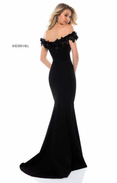 Sherri Hill 51774 Off The Shoulder picture 1