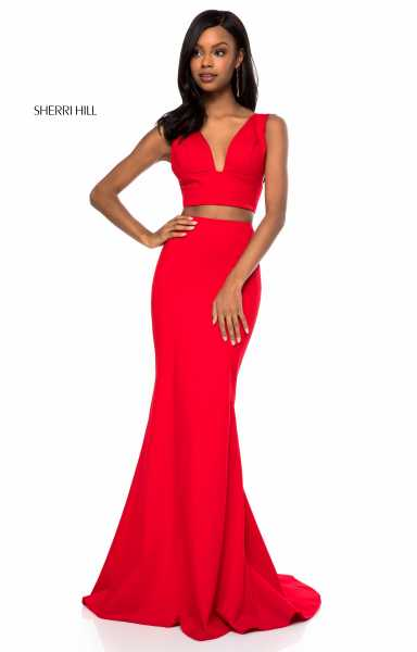 Sherri Hill 51775 Fitted and Two Piece picture 2