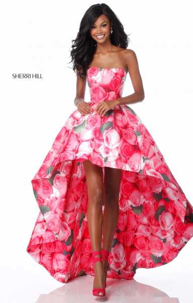 Sherri Hill 51791 High-Low picture 3