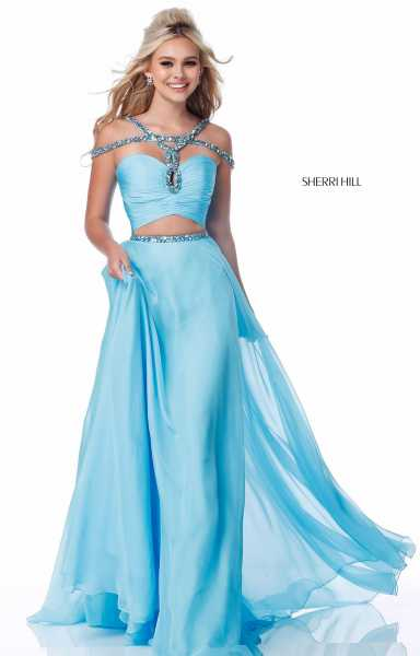 Sherri Hill 51812 A-Line and Two Piece picture 2