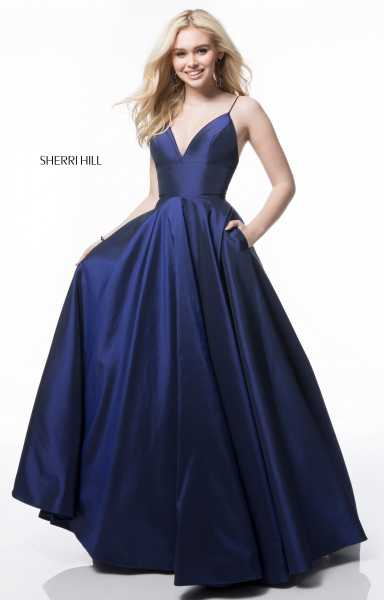 Sherri Hill 51822 Sweetheart and Has Straps picture 1