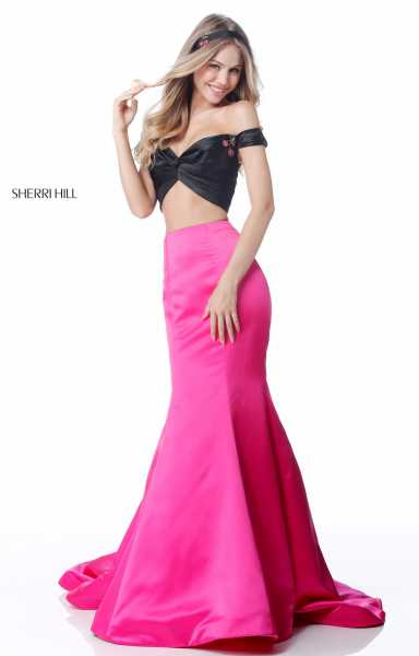 Sherri Hill 51855 Mermaid and Two Piece picture 2