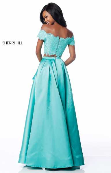 Sherri Hill 51857 Off The Shoulder picture 1