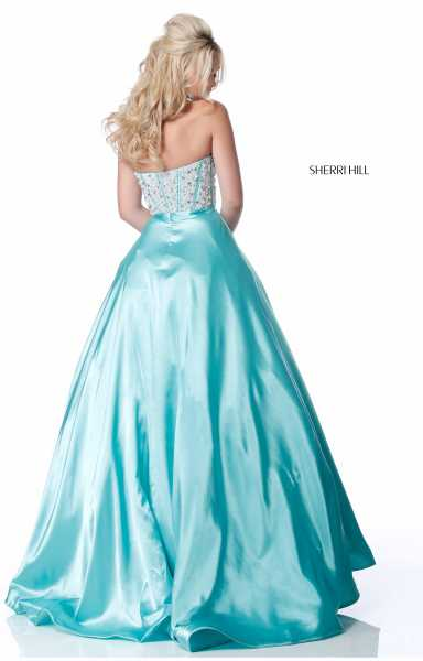 Sherri Hill 51884 Strapless and Sweetheart picture 1