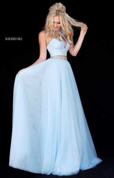 Sherri Hill 51910 A-Line and Two Piece picture 2