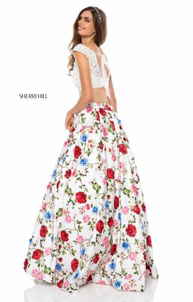 Sherri Hill 51964 Off The Shoulder picture 1