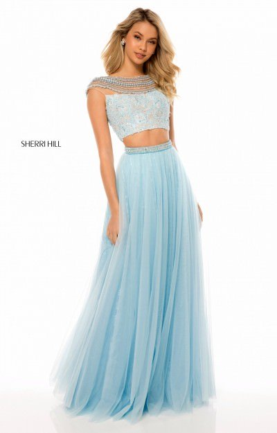 Long 2 Piece Soft Tulle