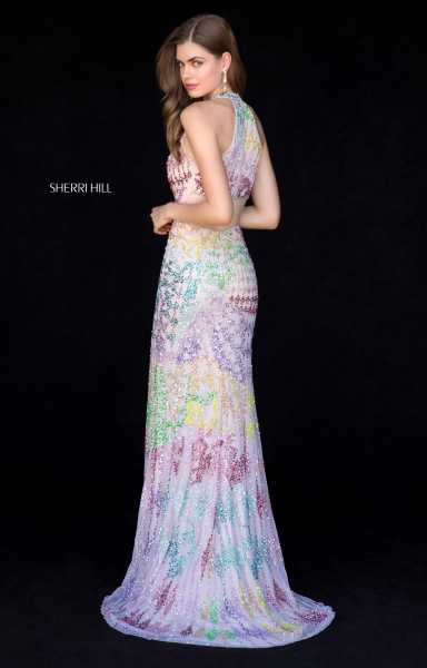 Sherri Hill 52032 Has Straps and V-Shape picture 1