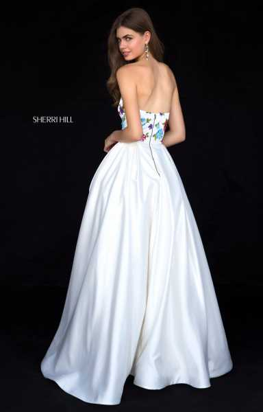Sherri Hill 52038 Strapless picture 1