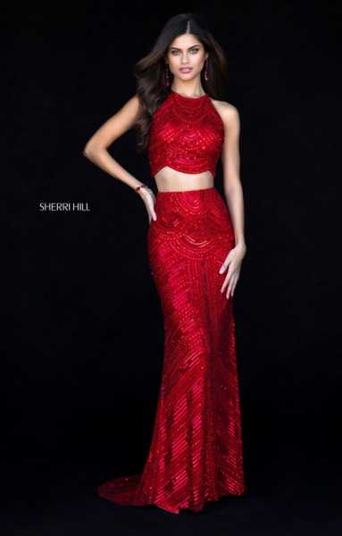 Sherri Hill 52063 High Neck picture 1