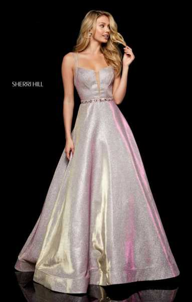 Sherri Hill 52124 Has Straps and Sweetheart picture 1