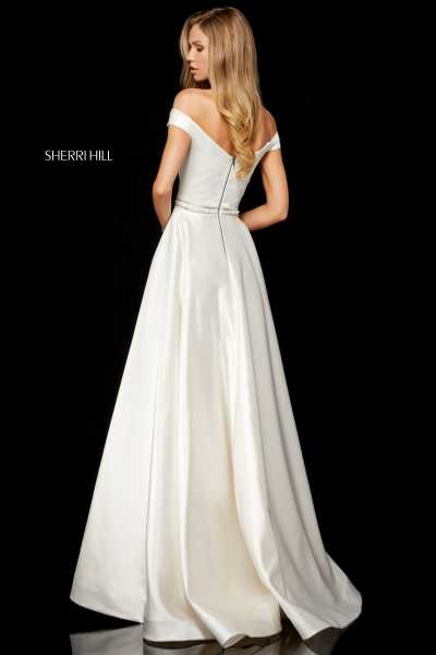 Sherri Hill 52332 Off The Shoulder picture 1