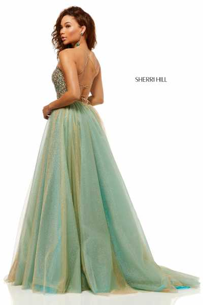 Sherri Hill 52404 Has Straps picture 1