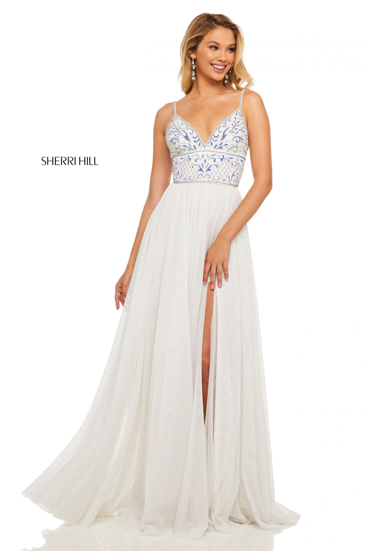57f60b480970a Sherri Hill 52450 - Grecian Goddess Dress