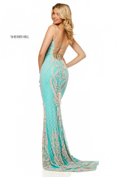 Sherri Hill 52454 Has Straps picture 1