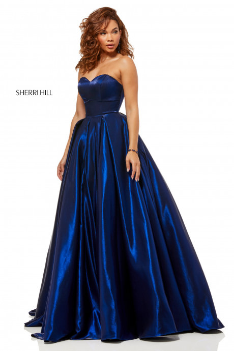 Sherri Hill 52456 Shimmer Ball Gown With Sweetheart