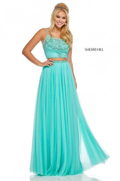 Sherri Hill 52516 Has Straps picture 1