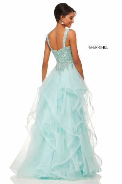 Sherri Hill 52562 Has Straps picture 1