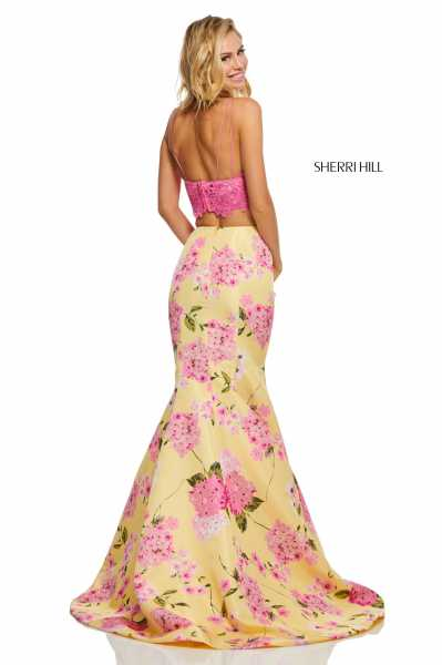 Sherri Hill 52635 Fitted and Two Piece picture 2