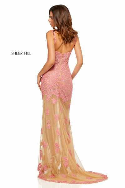 Sherri Hill 52655 Has Straps and V-Shape picture 1