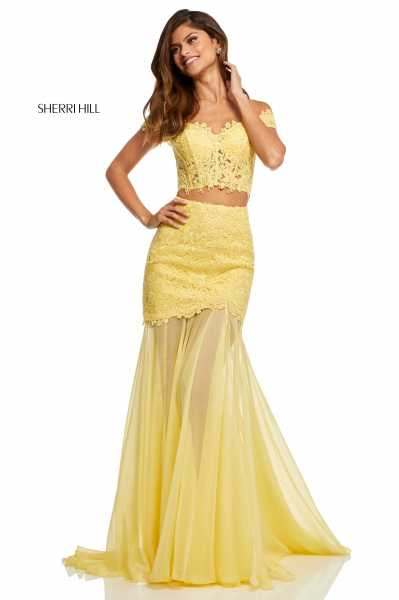 Sherri Hill 52719 High-Low and Long picture 3