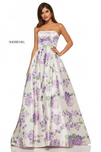 Sherri Hill 52723 Strapless picture 1