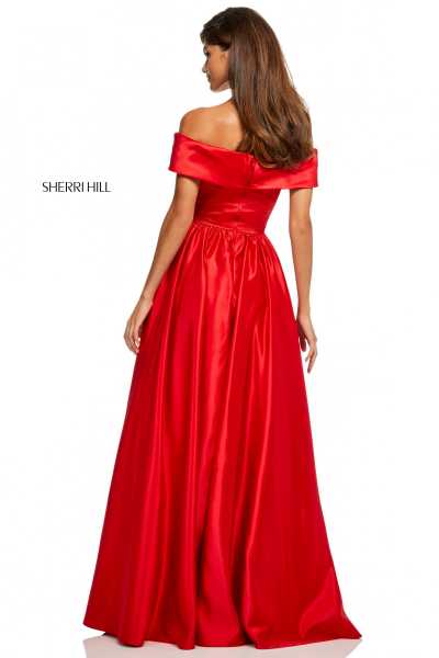 Sherri Hill 52769 Off The Shoulder picture 1