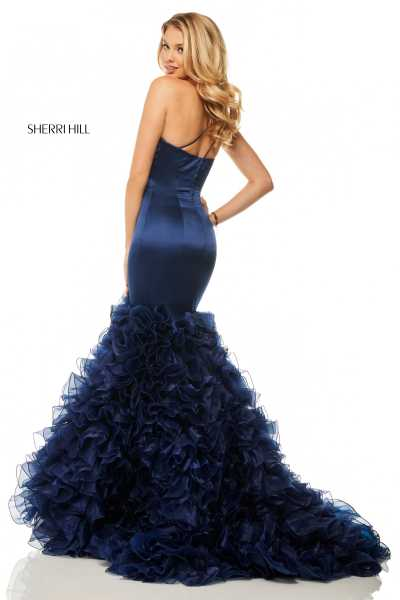 Sherri Hill 52775 One Shoulder picture 1