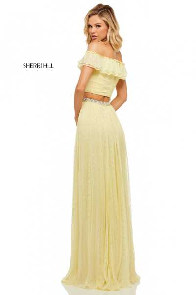 Sherri Hill 52800 Off The Shoulder picture 1