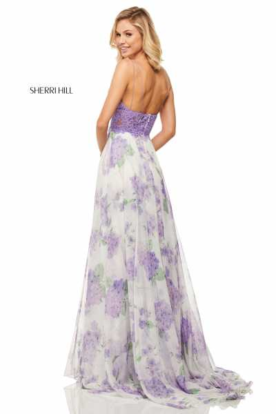 Sherri Hill 52857 Has Straps picture 1