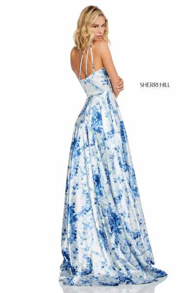Sherri Hill 52900 One Shoulder picture 1
