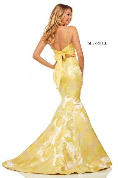 Sherri Hill 52927 Has Straps picture 1