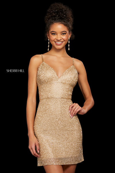 Sherri Hill 53014 Has Straps picture 1