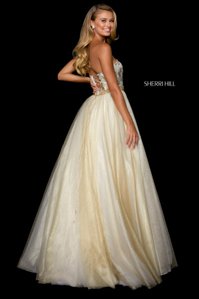 Sherri Hill 53256 Strapless picture 1