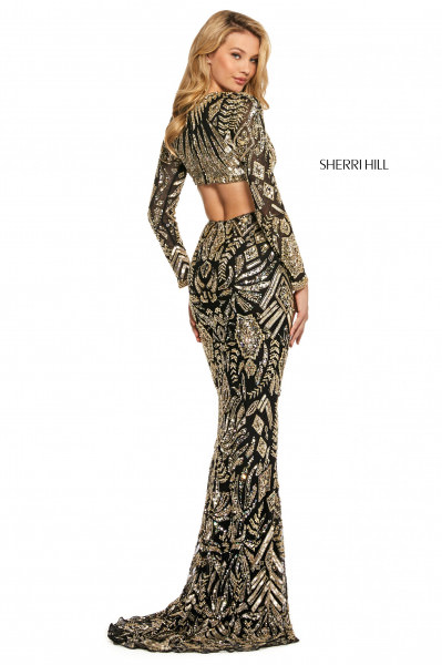 Sherri Hill 53270 V-Shape picture 1