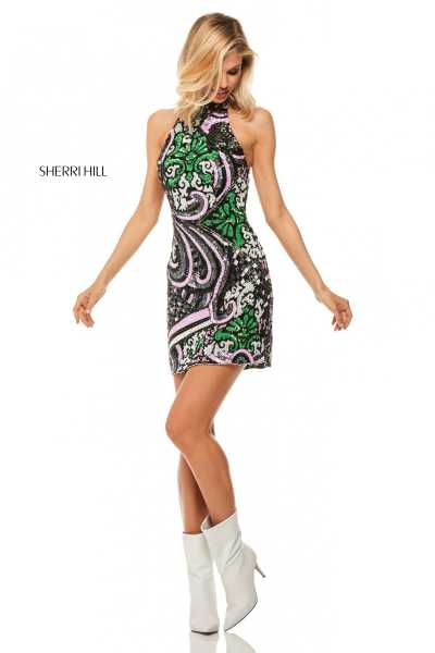 Sherri Hill 52214 Short picture 3
