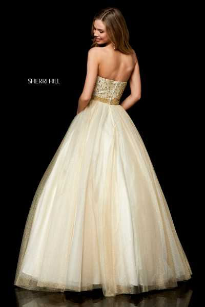 Sherri Hill 52264 Strapless picture 1