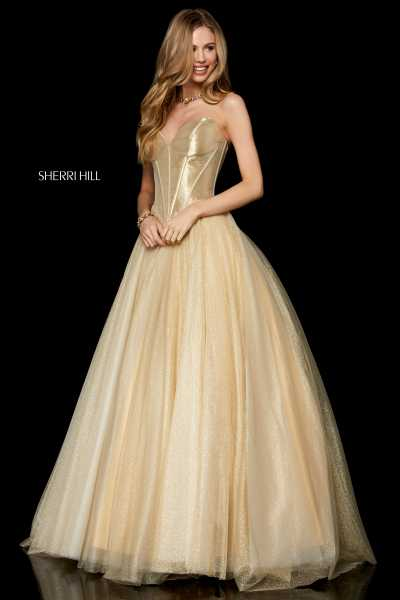 Sherri Hill 52265 Strapless picture 1